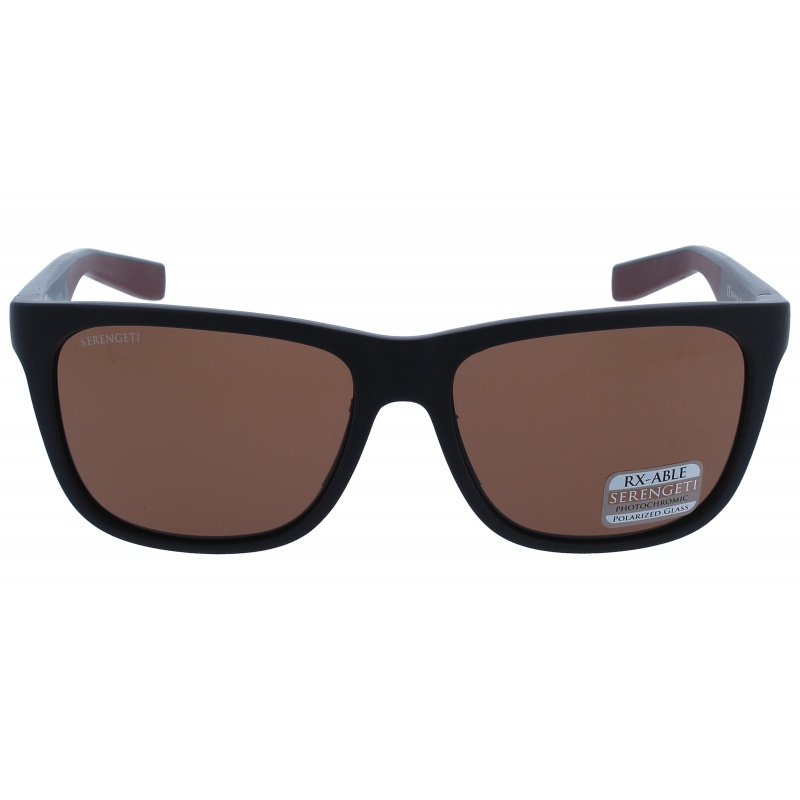Serengeti Livio 8681 Sanded black/Brown Polarized Drivers