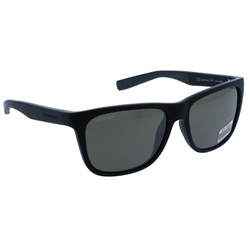 Serengeti Livio 8682 Sanded black/Grey Polarized 555nm