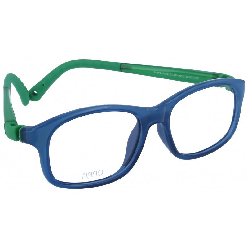Nanovista Arcade Azul Cristal-Verde 48 17