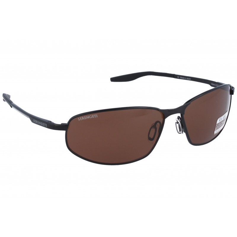 Serengeti 8727 Matera Dark Gun Polarized Drivers