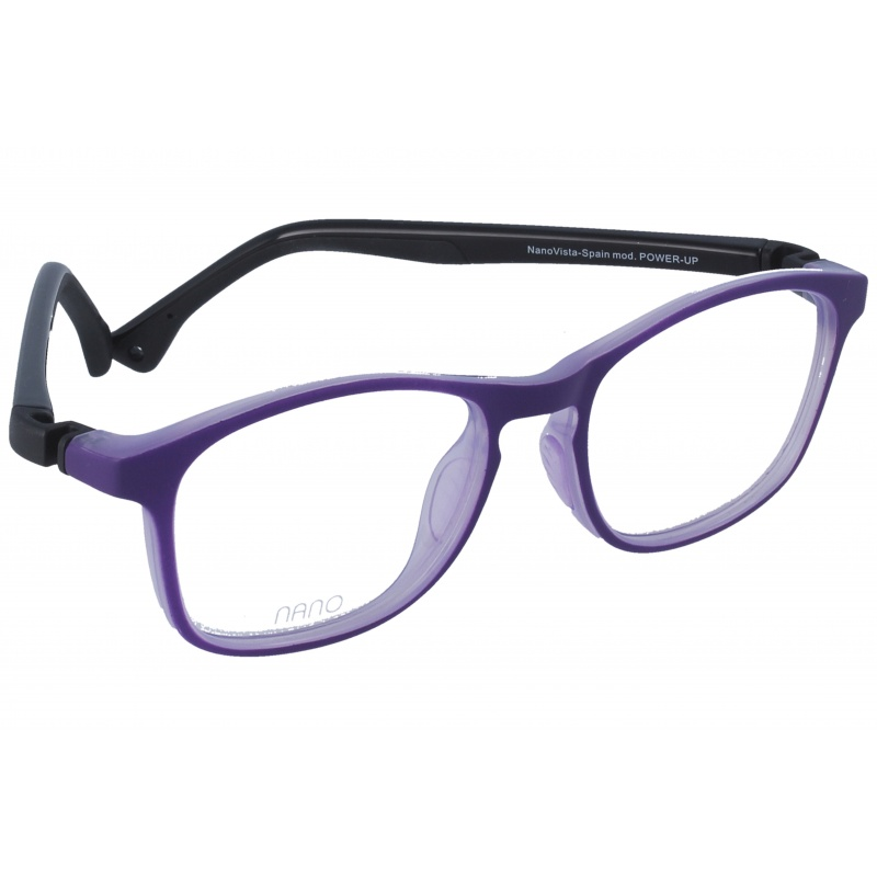 Nanovista Power Up Bicolor Morado Mate-Negro 48 17