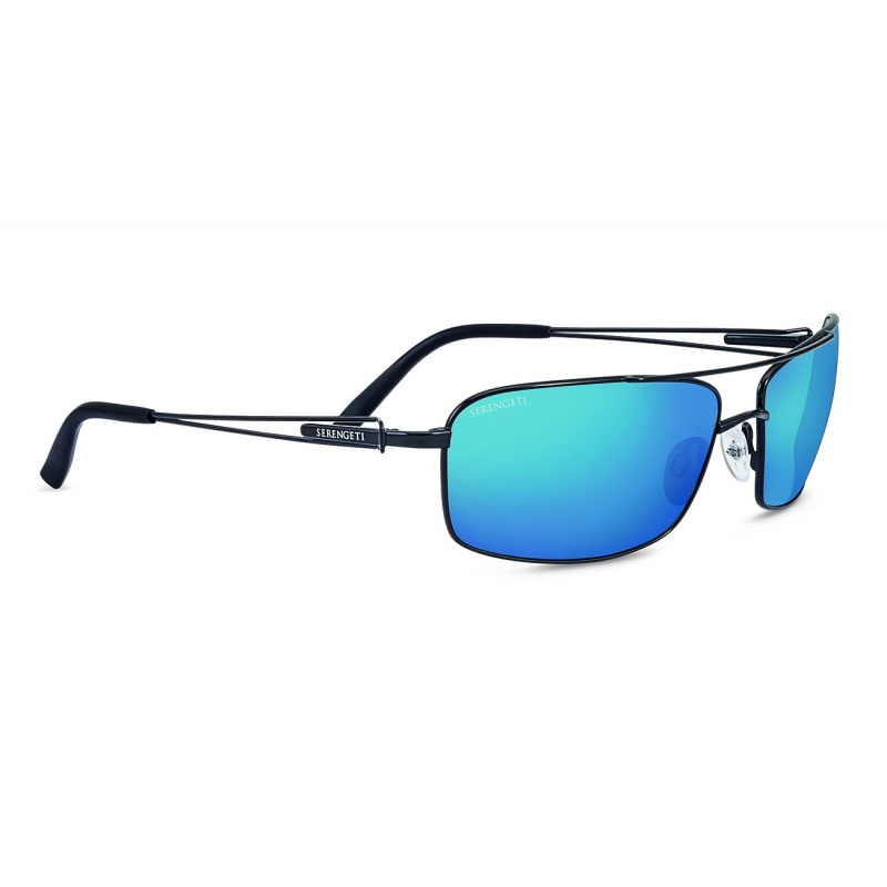Serengeti Dante 8458 Black Pearl Polarized 555nm Blue