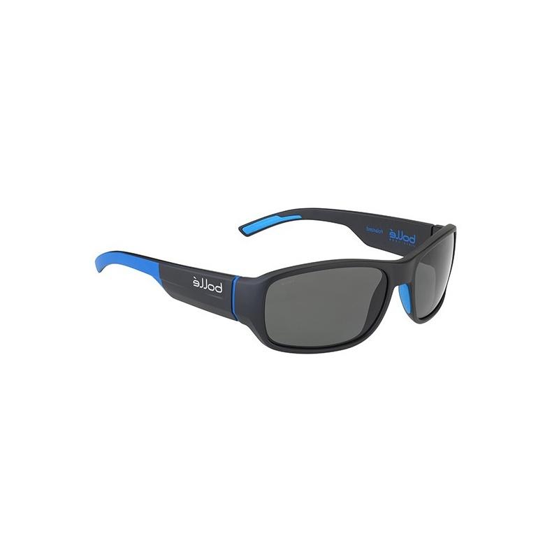 Bollé Heron 12378 Matte Black Blue Hd Polairzed Tns 55 16