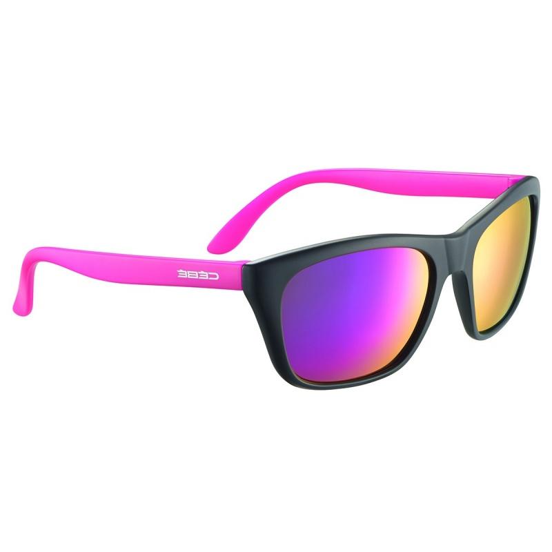 Cebé Cooper 50 Matte Black Pink/Blue Light Grey