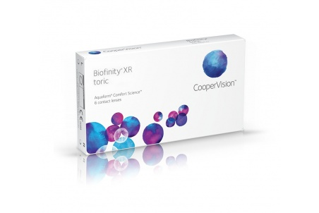 Biofinity Xr Toric 6 Meses