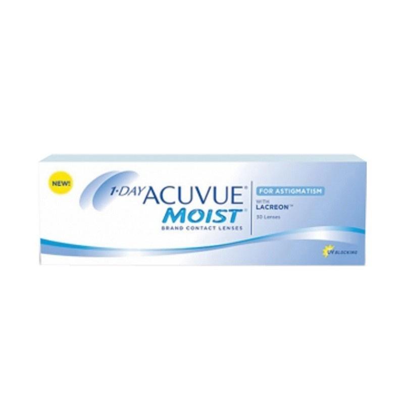 One Day Acuvue Moist For Astigmatismo 30 - Comprar Lentillas | Opticalh.Com