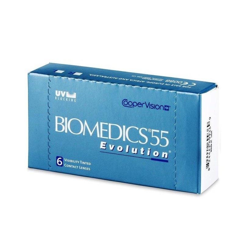 Biomedics 55 Aspheric 6 Mois