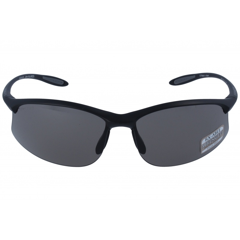 Serengeti Maestrale 7355 Satin Black Polarized Cpg