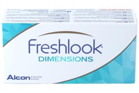 Freshlook Colors Dimensions