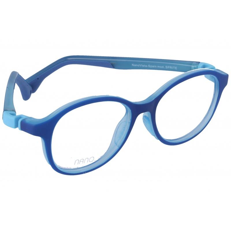 Nanovista Sprite/Bicolor Azul Mate-Celeste Cristal 42 15