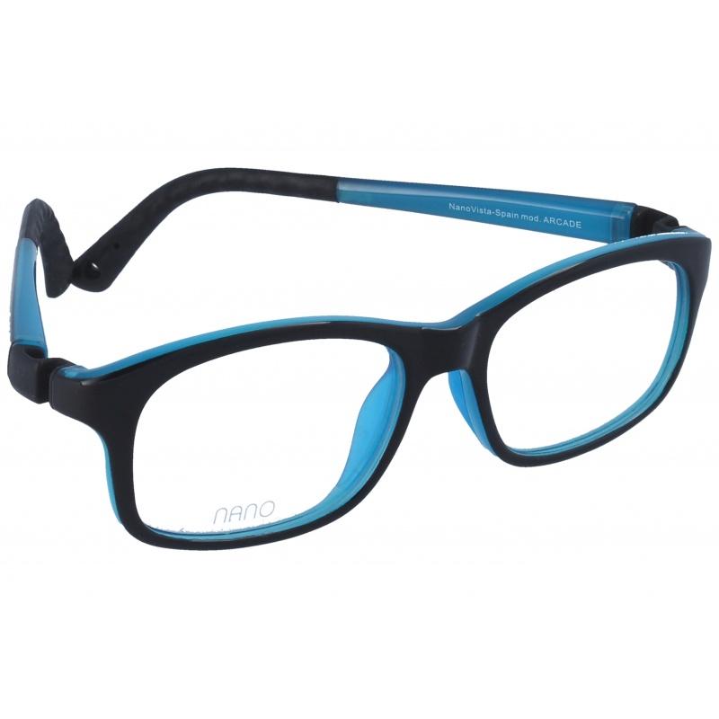 Nanovista Arcade Bicolor Negro-Azul 48 17