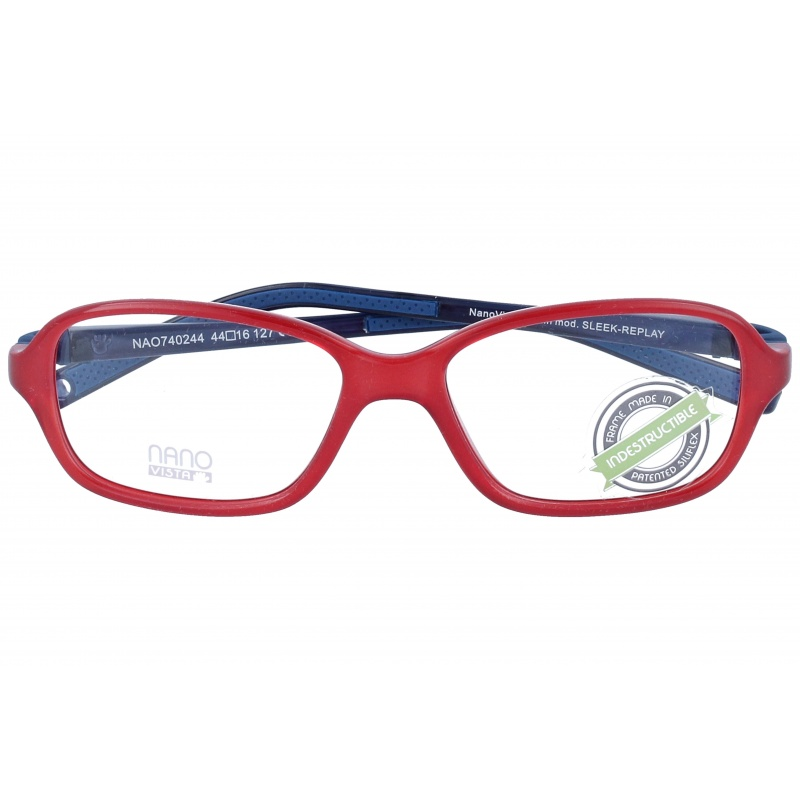 Nanovista Sleek Re-Play/Bicolor Rojo-Azul 42 15