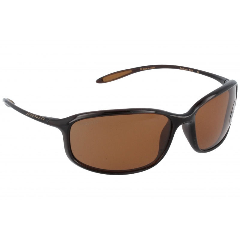 Serengeti Sestriere 8109 Sanded Dark Root Beer Polarized Drivers