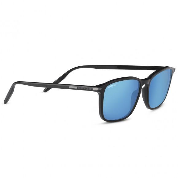 Serengeti Lenwood 8931 Shiny Black Polarized 555nm Blue
