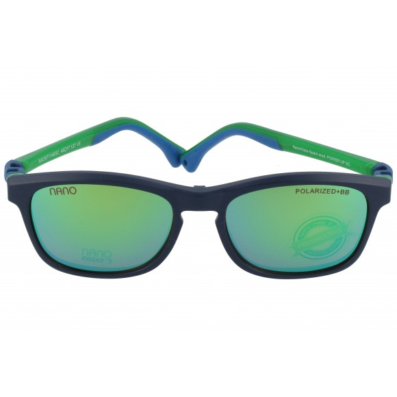 Nanovista Power Up Solar Azul Marino-Verde 46 17