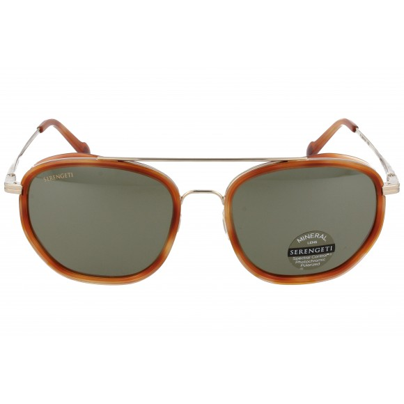Serengeti Boron 525003 Light Gold Orange Turtoise Polarized 555NM