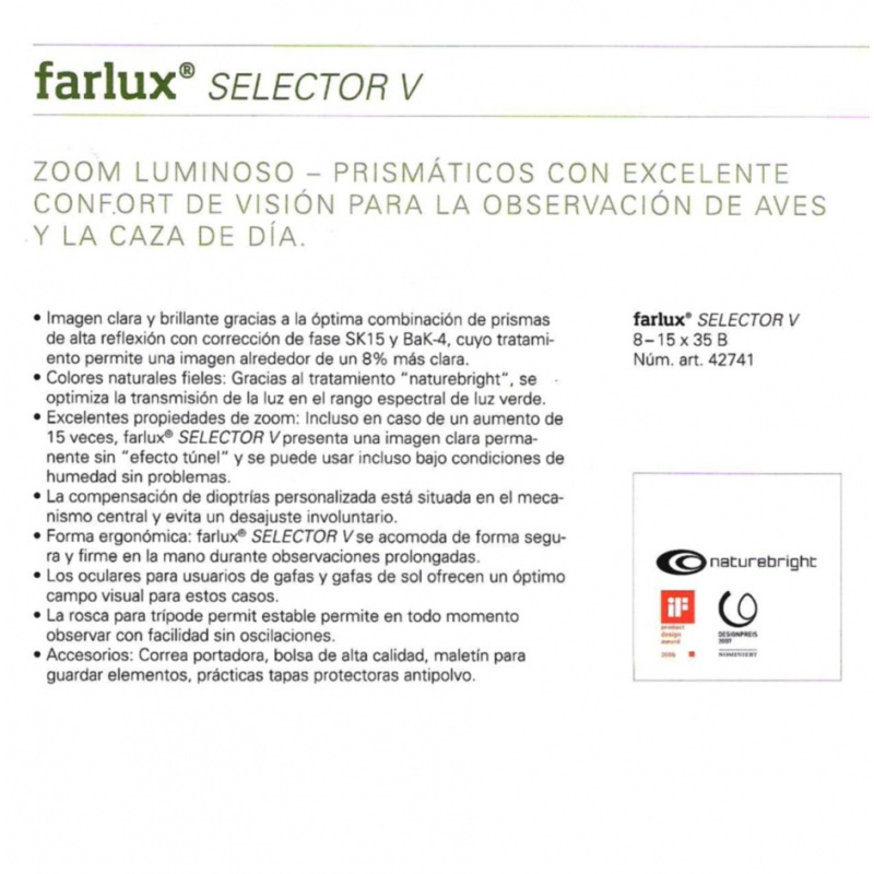 Farlux Selector V