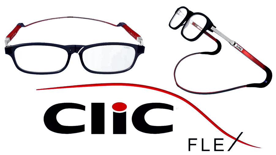 5fda427b1f93 CliC Flex  the new generation of magnetic reading glasses - BlogVision
