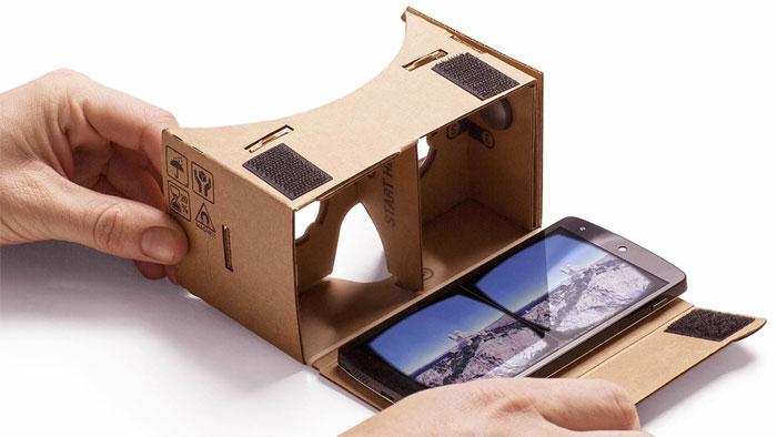 Google Cardboard VR example