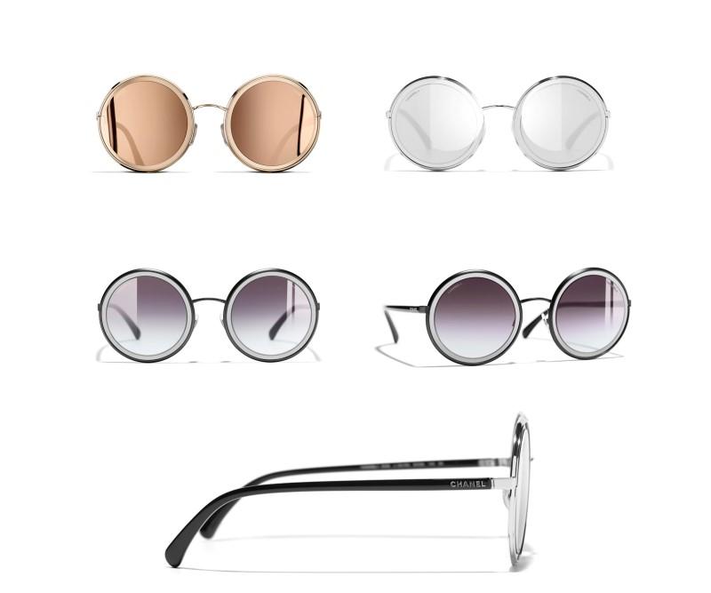 319b45c0665e Runde Chanel Brillen - Mode Sonnenbrillen für 2018