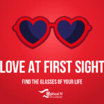 glasses for St. Valentine