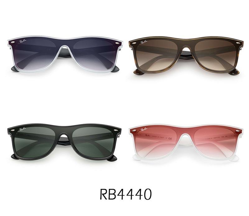 ecc5f94403 Nuevos modelos de gafas Ray Ban Blaze - Colección 2018