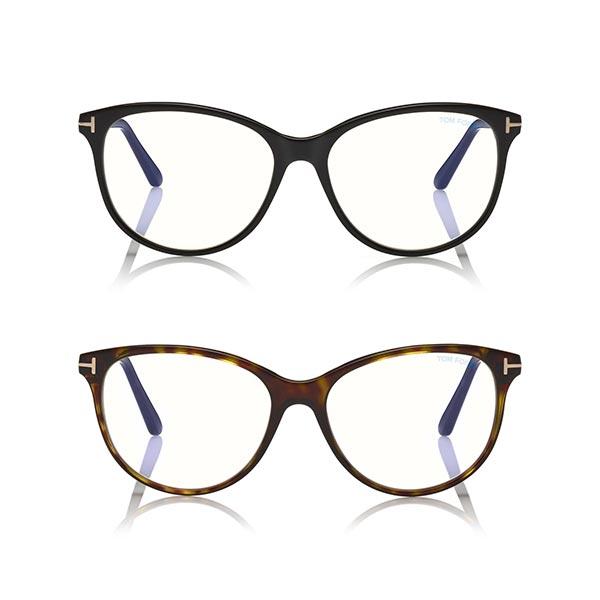 Blue Block Cat-Eye Optical 5544